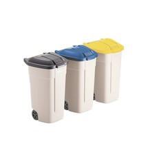 Mülleimer zur Entsorgung unterschiedlicher Materialien