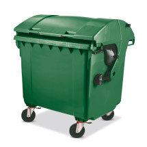 Große Mülltonne aus Niederdruck-PE